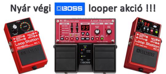 BOSS looper akció