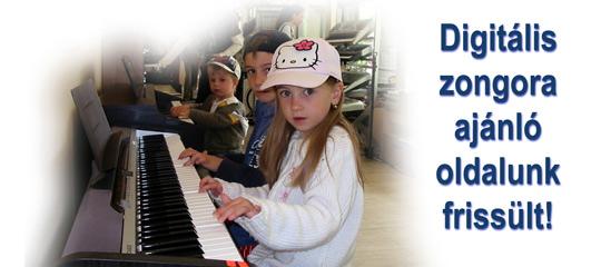 Digitális zongora ajánlat első vásárlók számára