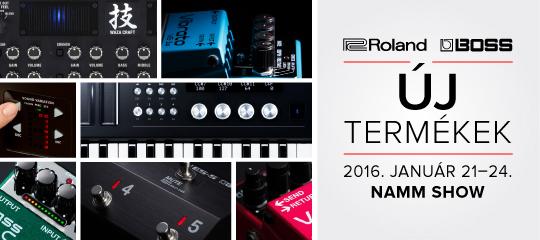 Roland új termékek 2016
