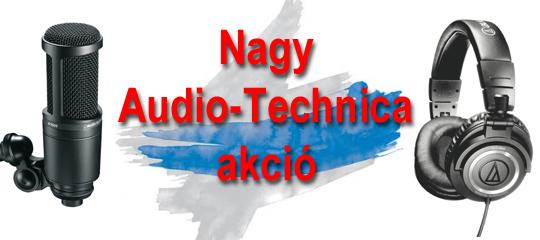 Audio-Technica akció