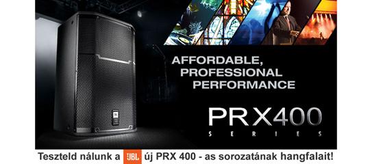 JBL PRX400 hangfalak