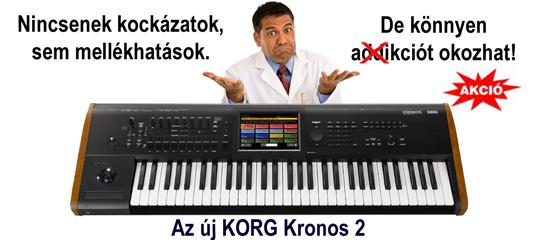 Korg Kronos addikció