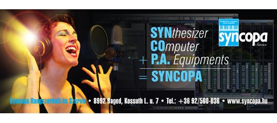 Zenei számítógépek a Syncopától